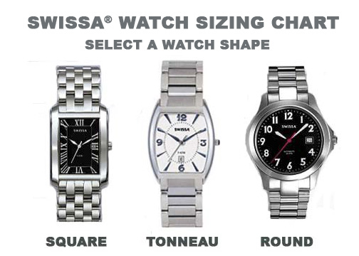Watch Sizing Chart